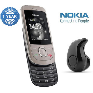 Nokia 2220 / Good Condition/ Certified Pre Owned (1 Year Warranty) with Mini Bluetooth