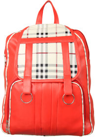 ADINE Women's Red Fashionable Backpack