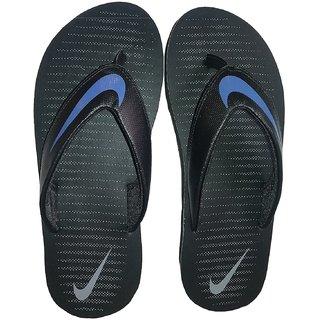 4e930f73d969 Buy Nike Thong Blue and Black Thong Flip Flop Online - Get 57% Off