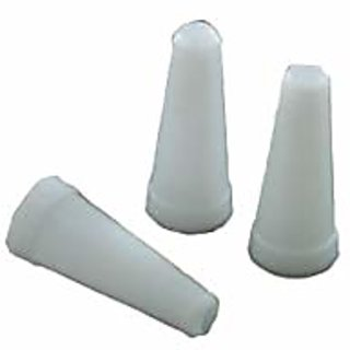 SCORIA 50Pcs Mini Hookah Mouth Tip Filters Disposable White MouthTips for Hookah Hose Hookah Pipe