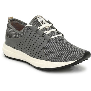 DotFit by (El Paso) Men's Grey Atheisure Sneakers Sports Shoes