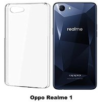 Oppo realme 1 soft transparent back cover