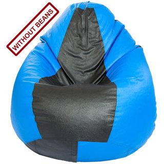 Home Berry XL size Blue Black Color Tear Drop Bean Bag   Cover  Without Beans  Bean Bags