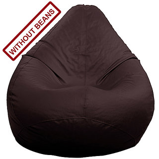 Home Berry XL Size Brown color Bean Bag (without Beans)