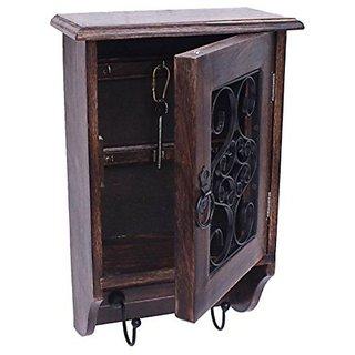 Desi Karigar Black Look Antique Key Box