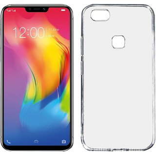 Vivo Y83 Transparent Ultra Protection Rubberised Crystal Clear Back Phone Cover for Vivo Y83