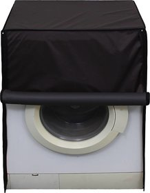 (pack of 1) Classic N Unique Front Loading Dark Brown Washing Machine Cover(up to 7 kg) .