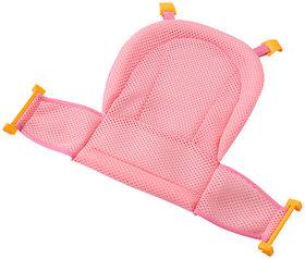 Futaba Non-slip T-shaped Baby Bath Mesh Net - Pink
