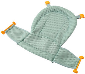 Futaba Non-slip T-shaped Baby Bath Mesh Net - Green