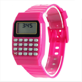 colorful Calculator Style Digital Watch (20 Buttons)