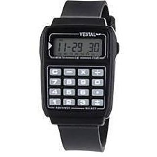 Calculator Watch for Kids By InstaDeal in Black color