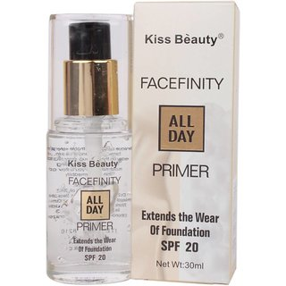 Kiss Beauty FACE FINITY All Day Primer - 30 ml