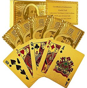 cm treder  24K Gold Playing Cards