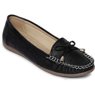 woodbrough womens Black casual shoes