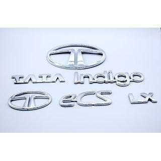 Tata Indigo Ecs Lx Monogram logo emblem Kit