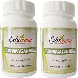 Erbzenerg Ashwagandha (Pack of 2)Capsule-60