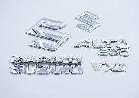 Maruti Suzuki Alto 800 VXi  Monogram logo emblem Kit