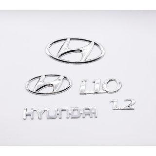 Hyundai i10 Monogram Logo Emblem Kit