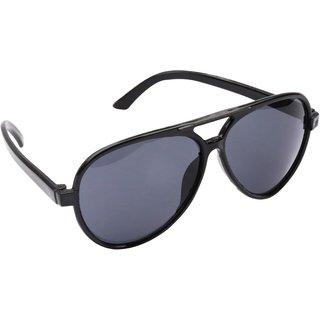 f061a336b2d Buy Derry Black Aviator Sunglasses Online - Get 82% Off
