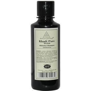 Khadi Pure Herbal Shikakai Shampoo - 210ml