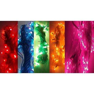 BEST DIWALI RICE LIGHT MULTICOLOR - Big diwali Rice Light 511.811 PURPLE COLOR  - BEST LENGTH ( 5 Pcs )