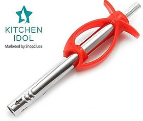 Kitchen Idol Fish Shape Gas Lighter - Assorted Colors