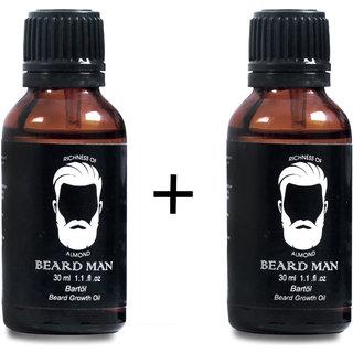 BEARD MAN BEARD OIL (30ML COMBO OF 2) BY UNILIFE HERBALS