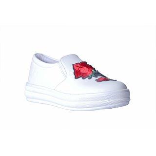 MSC Women's White Sneakers