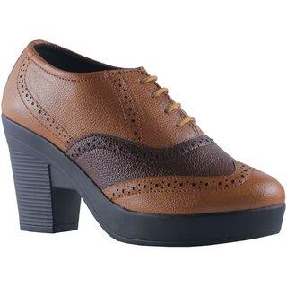 MSC Women's Tan Casual Shoe