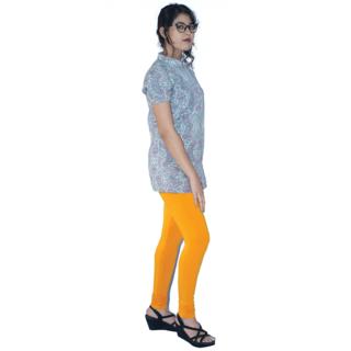 Delhi Bazar Indian Women's Churidar Stretchable Shining Leggings India Clothing Yoga Pant