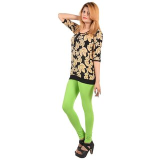 Delhi Bazar Women's Cotton Lycra Legging For Women Free Size Indian Chudidar Leggings