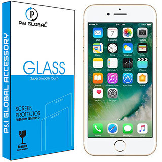 Tempered Glass Screen Guard For Apple IPhone 7