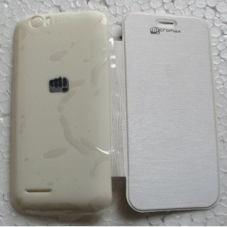 Micromax Bolt A40 Mobile Back Flip Cover Cases