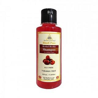 Khadi Pure Herbal Reetha Shampoo SLS-Paraben Free - 210ml