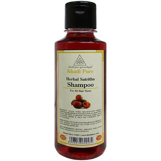 Khadi Pure Herbal Satritha Shampoo - 210ml