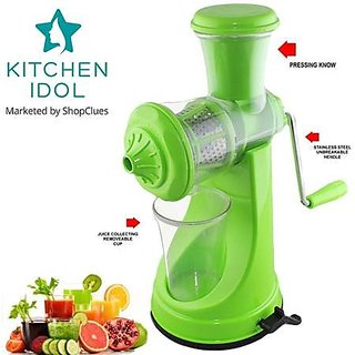 Kitchen Idol Elegant Fruit Juicer - Green
