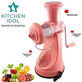 Kitchen Idol Elegant Fruit Juicer - Pink