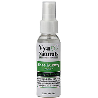 Rose Luxury Face Toner for detoxifying and calming (50ml)