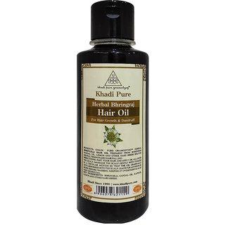Khadi Pure Herbal Bhringraj Hair Oil - 210ml