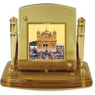 Buy Diviniti Golden Temple Religious Car Dashboard Frame Online