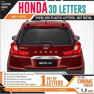 Buy Honda 3d Letters For Honda Brio Chrome Wrapped Letters Honda