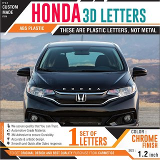 Buy Honda 3d Letters For Honda Wrv Chrome Wrapped Letters Honda