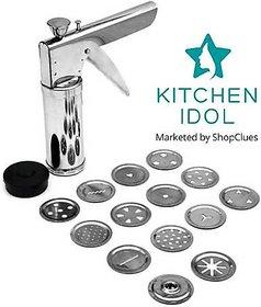 Kitchen Idol Stainless Steel 15Jali Kitchen Press