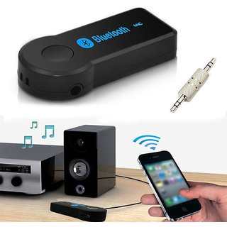 Favourite Deals BT Audio Jack Receiver With USB Cable Mic For Car