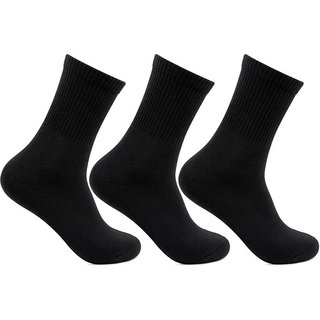 Zeeko Black Quater Length Socks (pack-2)