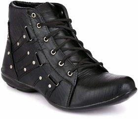 Vitegra Black Boot Shoes