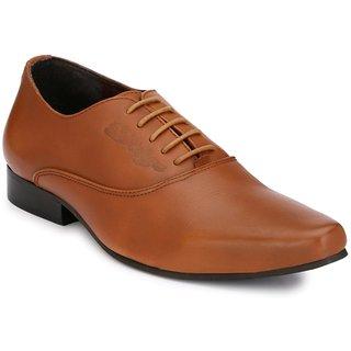 Delize Mens Tan Lace-up Smart Formals Formal Shoes