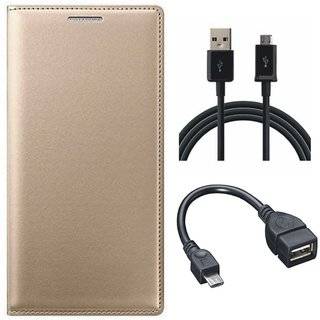 Vivo Y69 Stylish Cover with OTG Cable and USB Cable