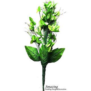 Vases Artifical Flower Green Patti