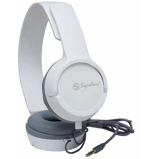 Signature High Quality Vm-61 Pro Headphones For All Smartphones (White)